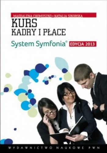 Okładka książki Kurs kadry i płace. System Symfonia + CD