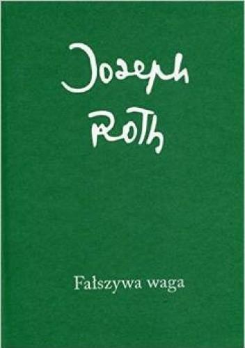 Okładka książki Fałszywa waga