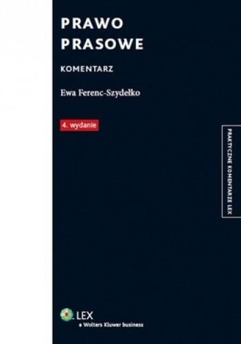 Okładka książki Prawo prasowe. Komentarz