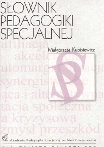 Okładka książki Słownik pedagogiki specjalnej