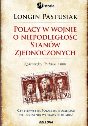Okładka książki Polacy w wojnie o niepodległość Stanów Zjednoczonych