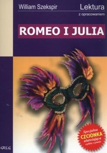 Okładka książki Romeo i Julia. Lektura z opracowaniem