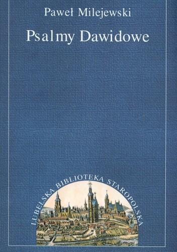 Okładka książki Psalmy dawidowe