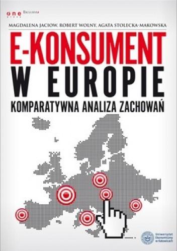 Okładka książki E-konsument w Europie
