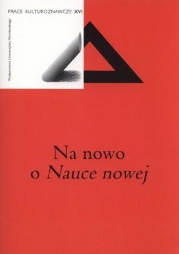 Okładka książki Na nowo o Nauce nowej