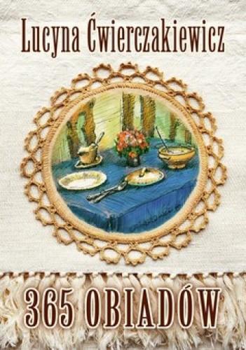 Okładka książki 365 obiadów