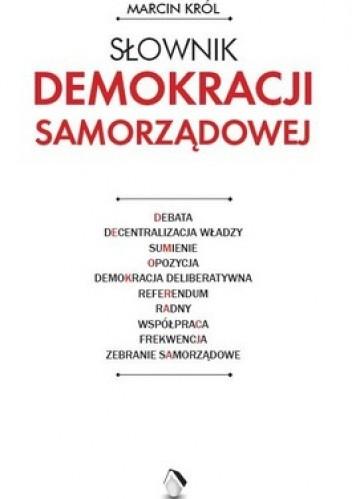 Okładka książki Słownik demokracji samorządowej