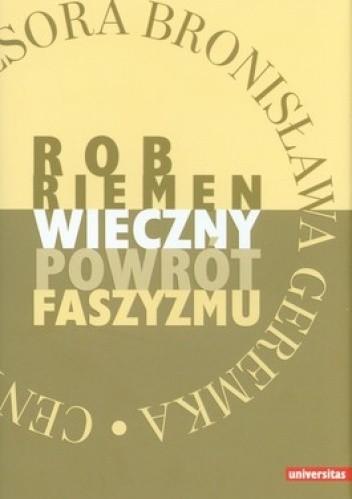 Okładka książki Wieczny powrót faszyzmu