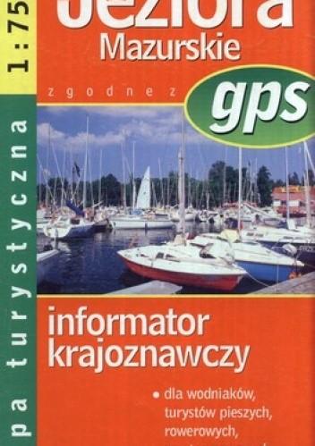Okładka książki Wielkie Jeziora Mazur. Mapa turystyczna. GPS. 1:75 000 Demart