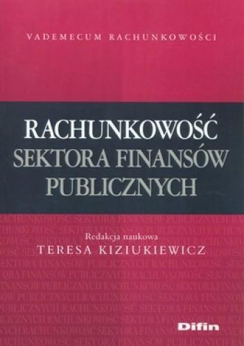 Okładka książki Rachunkowość sektora finansów publicznych