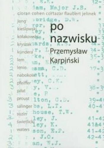 Okładka książki Po nazwisku