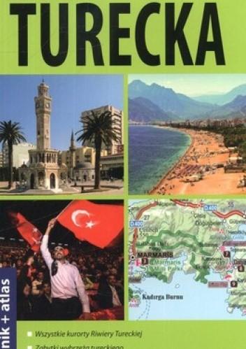 Okładka książki Riwiera turecka 2 w 1. Przewodnik + atlas ExpressMap