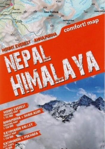 Okładka książki Himalaje Nepalskie. Mapa trekkingowa. ExpressMap