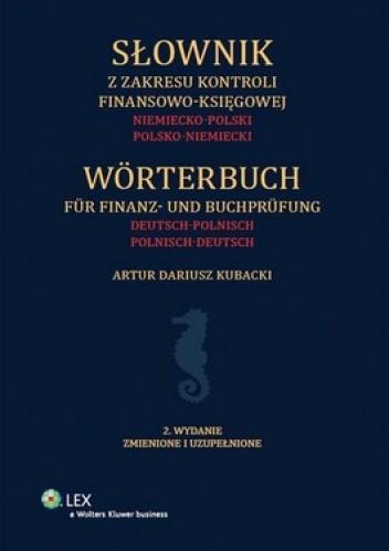 Okładka książki Słownik z zakresu kontroli finansowo-księgowej