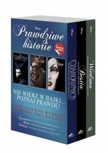 Okładka książki Prawdziwe historie. Czarownica + Bestia + Wiedźma (komplet)