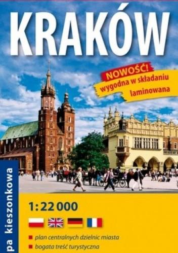 Okładka książki Cracow. City  street map. Laminowana. 1:22 000. comfort! map