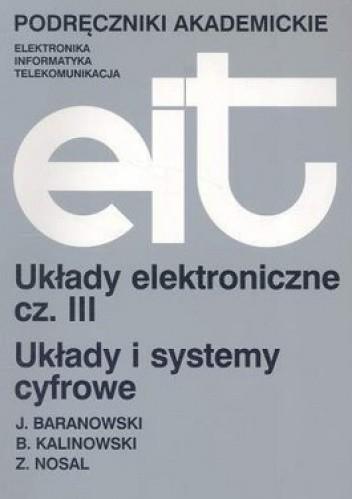 Okładka książki Układy elektroniczne. Część 3
