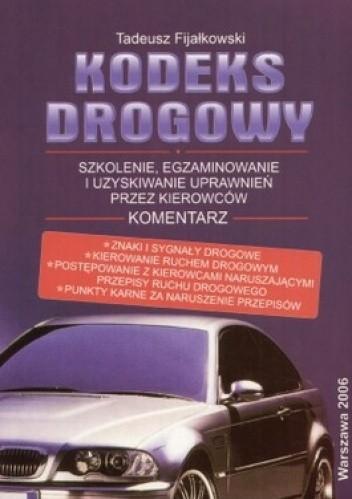 Okładka książki Kodeks drogowy 2006