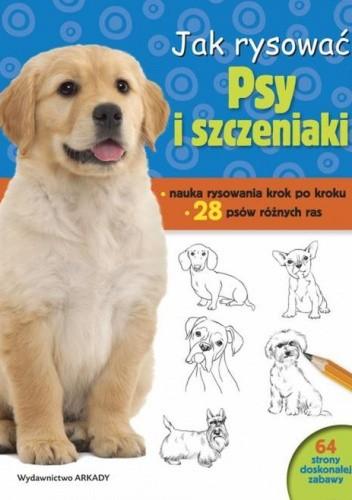 Okładka książki Jak rysować. Psy i szczeniaki
