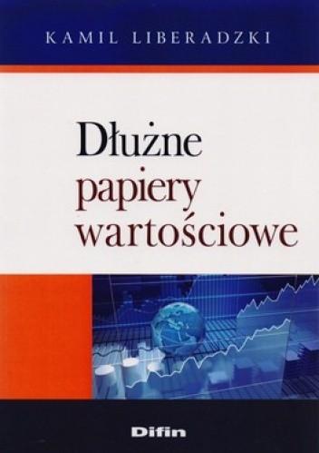Okładka książki Dłużne papiery wartościowe