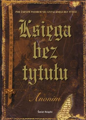 Okładka książki Księga bez tytułu