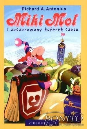 Okładka książki Miki Mol i zaczarowany kuferek czasu