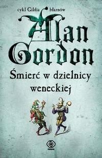 Okładka książki Śmierć w dzielnicy weneckiej