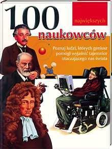 Okładka książki 100 największych naukowców.