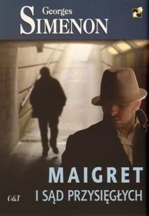 Okładka książki Maigret i sąd przysięgłych
