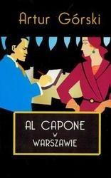 Okładka książki Al Capone w Warszawie