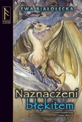 Okładka książki Naznaczeni błękitem. Księga II
