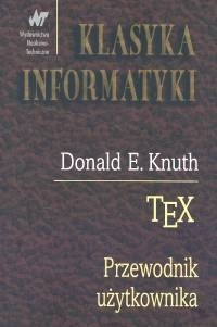 Okładka książki TeX. Przewodnik użytkownika
