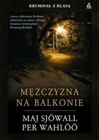 Okładka książki Mężczyzna na balkonie