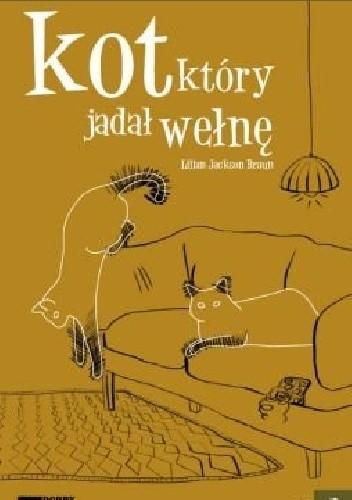 Okładka książki Kot, który jadał wełnę