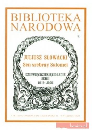 Okładka książki Sen srebrny Salomei