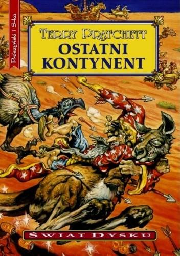 Okładka książki Ostatni kontynent