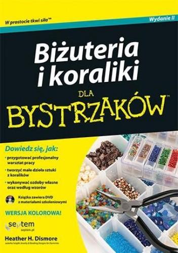 Okładka książki Biżuteria i koraliki dla bystrzaków + DVD