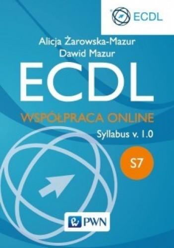 Okładka książki ECDL. Współpraca online. Syllabus v.1.0