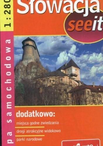 Okładka książki Słowacja. Mapa samochodowa 1:280 000 Demart