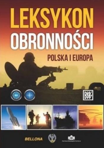 Okładka książki Leksykon obronności Polska i Europa