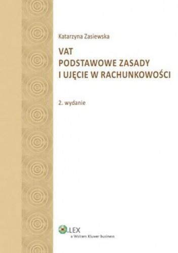 Okładka książki VAT. Podstawowe zasady i ujęcie w rachunkowości