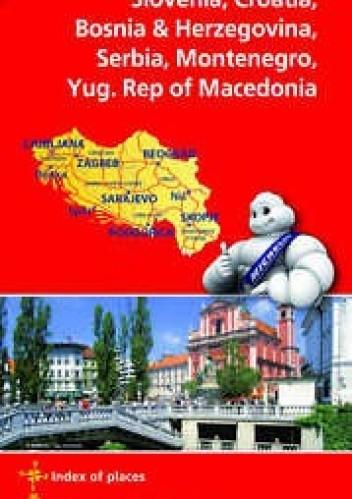 Okładka książki Balkans. Mapa samochodowa. 1:1 000 000 Michelin