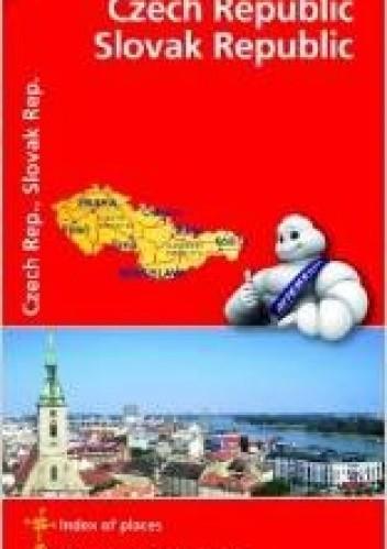 Okładka książki Czech Republic, Slovak Republic. Mapa samochodowa. 1:600 000