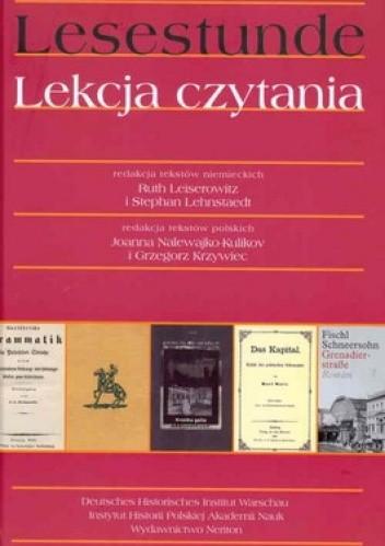 Okładka książki Lesestunde. Lekcja czytania