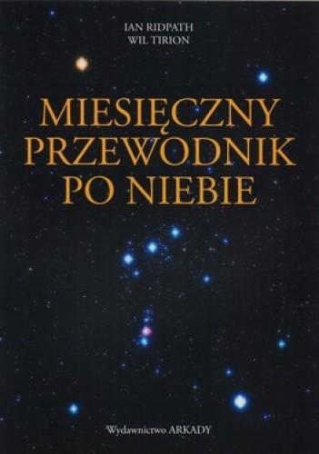 Okładka książki Miesięczny przewodnik po niebie