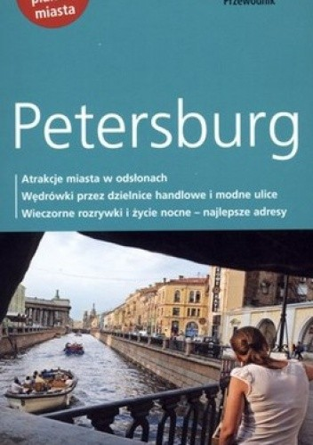 Okładka książki Petersburg. Przewodnik z Dumont z planem miasta