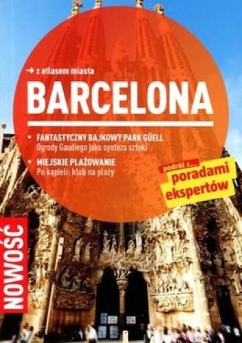 Okładka książki Barcelona. Przewodnik Marco Polo z atlasem miasta