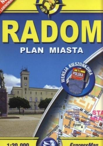 Okładka książki Radom. Plan miasta. 1:20 000 ExpressMap