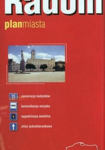 Okładka książki Radom. Plan miasta. 1: 20 000 Expressmap