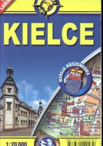 Okładka książki Kielce plan miasta. Laminowany. 1:20 000 ExpressMap